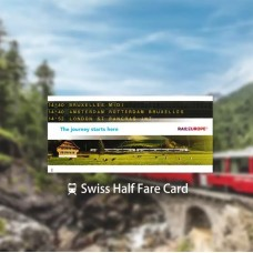 Swiss Half Fare Card by TapMyTrip