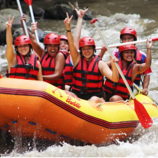 [SALE - 30% OFF] Ayung White Water Rafting with Red Paddles by TapMyTrip