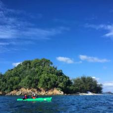 Island Hopping Adventure Full Day Tour in Kota Kinabalu via Kayak by TapMyTrip
