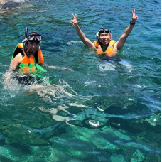 Snorkeling or Diving Experience in Moon Bay from Kota Kinabalu by TapMyTrip