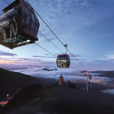 Awana SkyWay Gondola Cable Car in Genting Highlands (QR Code Direct Entry) by TapMyTrip