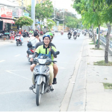 Saigon Shopping Experience by Motorbike by TapMyTrip
