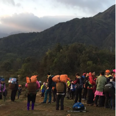 2D1N Fansipan Mountain Trek with Camping from Hanoi by TapMyTrip