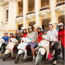 Hanoi Sightseeing Motorbike Tour by TapMyTrip