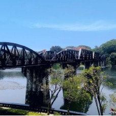 Kanchanaburi River Kwai Bridge and Elephant Bathing Day Tour by Yusabai by TapMyTrip