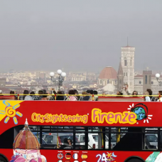 Florence Hop on Hop off Bus Pass with Audio Guide by TapMyTrip